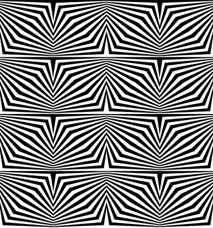 op: Op art seamless illusion Illustration