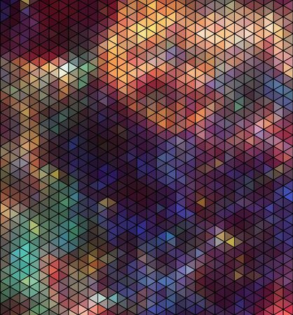 abstract backround: Abstract triangle hexagon pattern