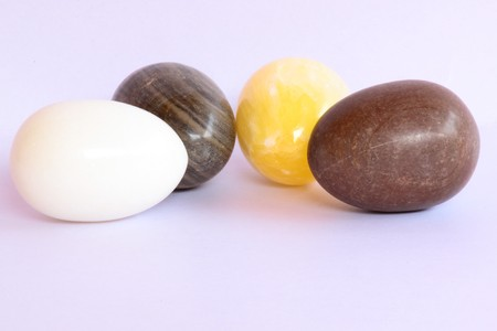 stony: Stony eggs Stock Photo