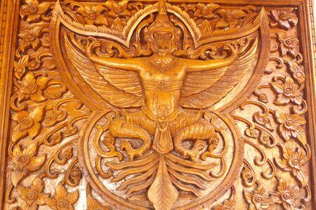Engraving bird in legend photo