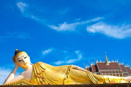 Inclined Buddha photo