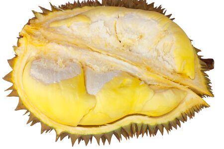 Durian isolation photo