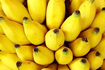 Background of Thai ripe banana photo