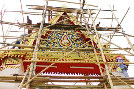bower: One in several style of bower of temple in Thailand on advancement