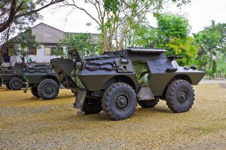 armored car: Light weight armored car for long distance reconnaissance