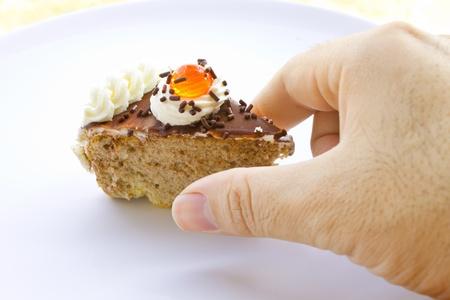 cake pick: Pick it up,if you like