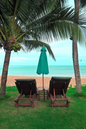 restfulness: Relax at view of Andaman,Thailand Stock Photo