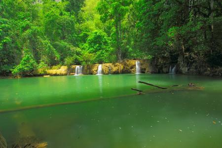 wilding: Big pond in the wilding area at T Lor Su,Thailand