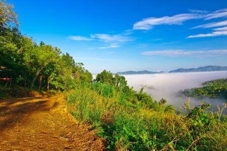 wilding: NamPrao valley,Phrae,Thailand Stock Photo