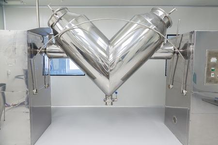 foto dell'impianto, attrezzature per camere bianche e macchine in acciaio inossidabile