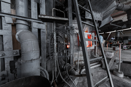 Process of glass making at specialized glass industry