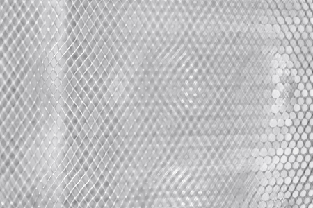 Stainless steel texture. Silver-gray plate. Background-the grid floor. Template for flyer or advertisement. grey metal Grille close-up
