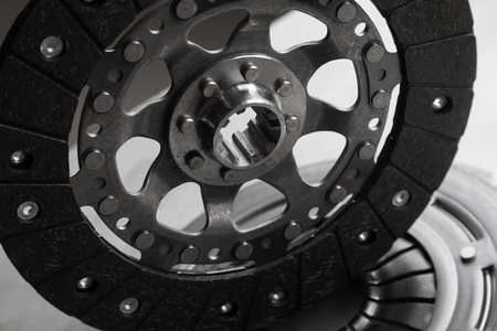 original gearbox part, clutch disc, warranty service Banco de Imagens