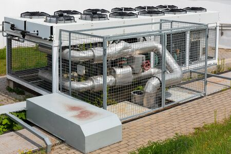 Air-conditioning equipment by factory or plant, restaurant or hotel