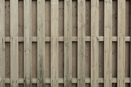 Close-up of surface made of wooden planks of pale grey color