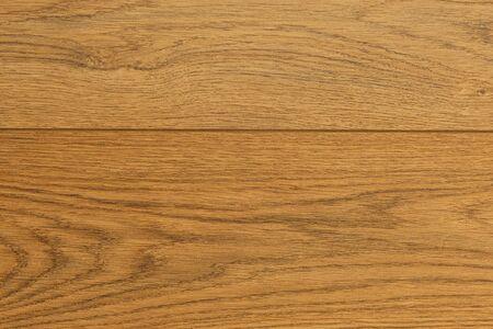 Vista elevada de laminado de roble marrón claro Foto de archivo