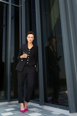 Portrait of a successful businesswoman, female professional