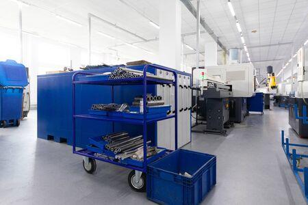 Las preparaciones de metal están listas para la siguiente etapa de procesamiento.