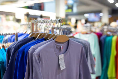 clothing department with a wide selection for every taste.