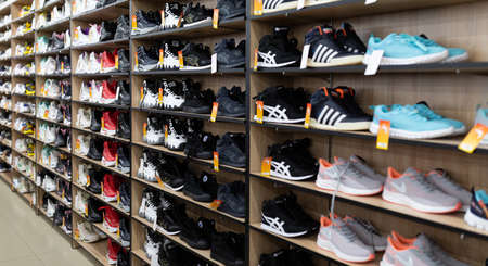 leather shoe store with a wide selection of colors, models and sizes.