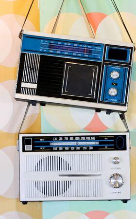 Couple of retro radio Stock Photo - 8015122