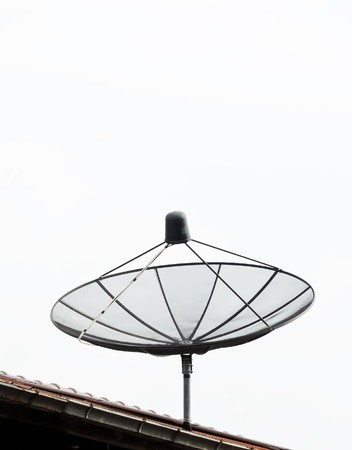 Old satellite dish Stock Photo - 8155268