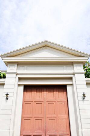Large entrance in the grand palace,Bangkok Thailand photo