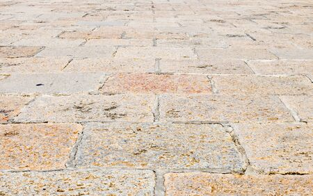 Surface of the pavement in the grand palace,Bangkok Thailand photo