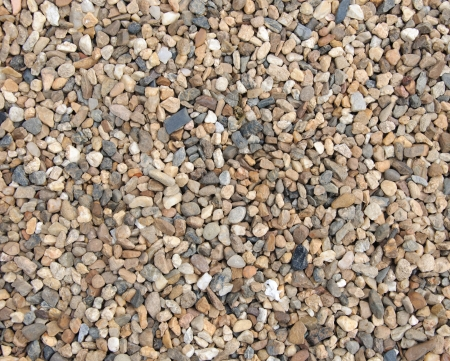 Small pebble on the small garden ground inside the house  Stok Fotoğraf