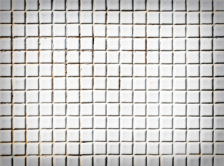 White tile wall of the modern bathroom in exhibition hall  photo