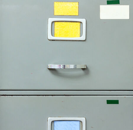 office cabinet: Steel filing cabinet for privacy data in the office.