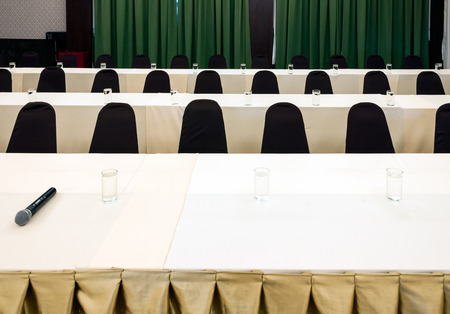 Modern conference room for business seminars  photo