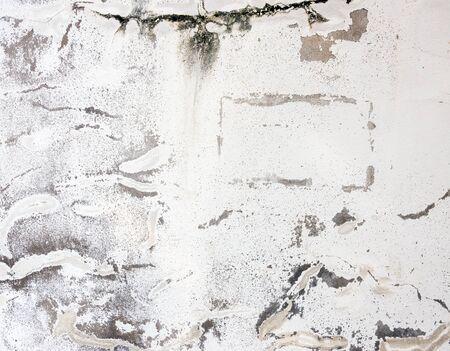 broken wall: Antiguo muro roto con muchos Carck. Foto de archivo