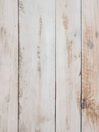 Wooden pattern of the light plank on the wooden fence of the countryside house.