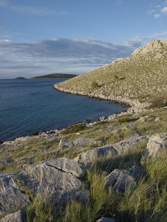 kornat: Morning light on the island of Katina, Kornat        Stock Photo