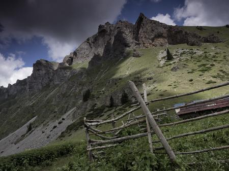 sheepfold: Sheepfold near Gorna Leshnica, Shara mountain, Macedonia