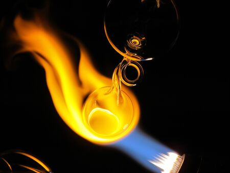 Glass blowing torch