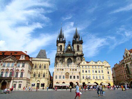Prague, Czech Republic - June 2011, City Center