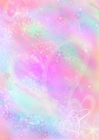 Computer designed abstract background, valentines stationery photo