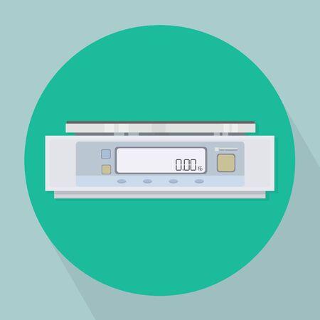 balanza de laboratorio: Laboratorio Balanzas Ilustraci�n Escala vectorial Vectores