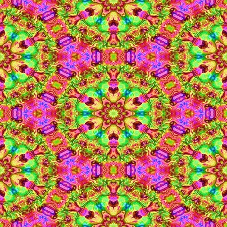 composite: Abstract colorful briliant composite texture made seamless Stock Photo