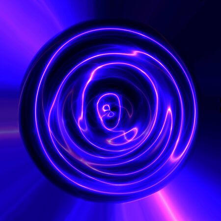 Abstract blue violet plasma electric lightning texture usable seamlessly Stock Photo