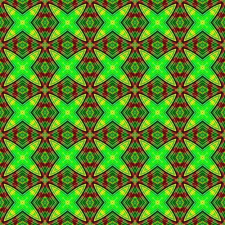 grooved: Abstract fluorescent green geometrical texture or background made seamless
