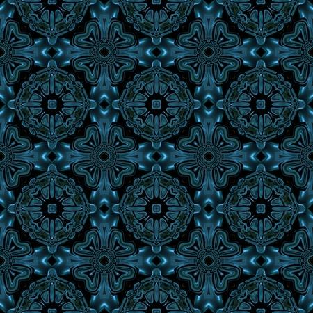Abstracte blauwe metalen zoals textuur die naadloos