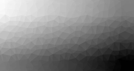 Abstract geometric background of black and grey triangular polygons