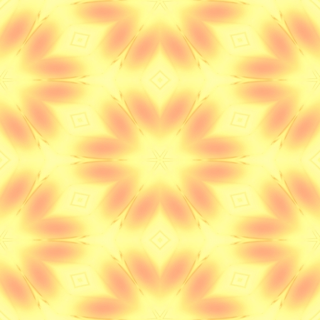 Abstract soft yellow texture with flower pattern made seamless 版權商用圖片