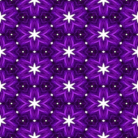 Abstract violet texture or background with white stars with Christmas look made seamless