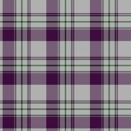 Traditional trendy Scottish pink tartan pattern with violet stripes made seamless for kilt or bandana