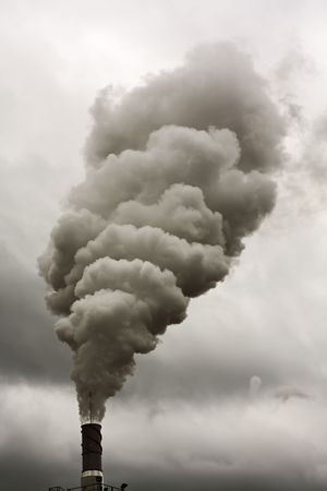 deleterious: Dirty smoke on the sky, ecology problems