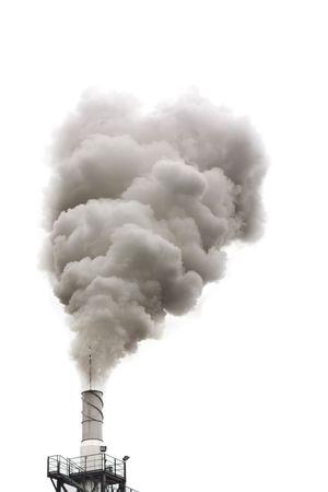 smoke: Dirty rook geïsoleerd, ecologie problemen